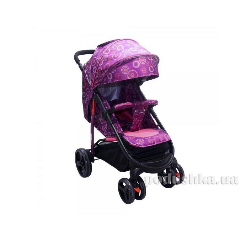 Прогулочная коляска Babyhit Racy Violet circles