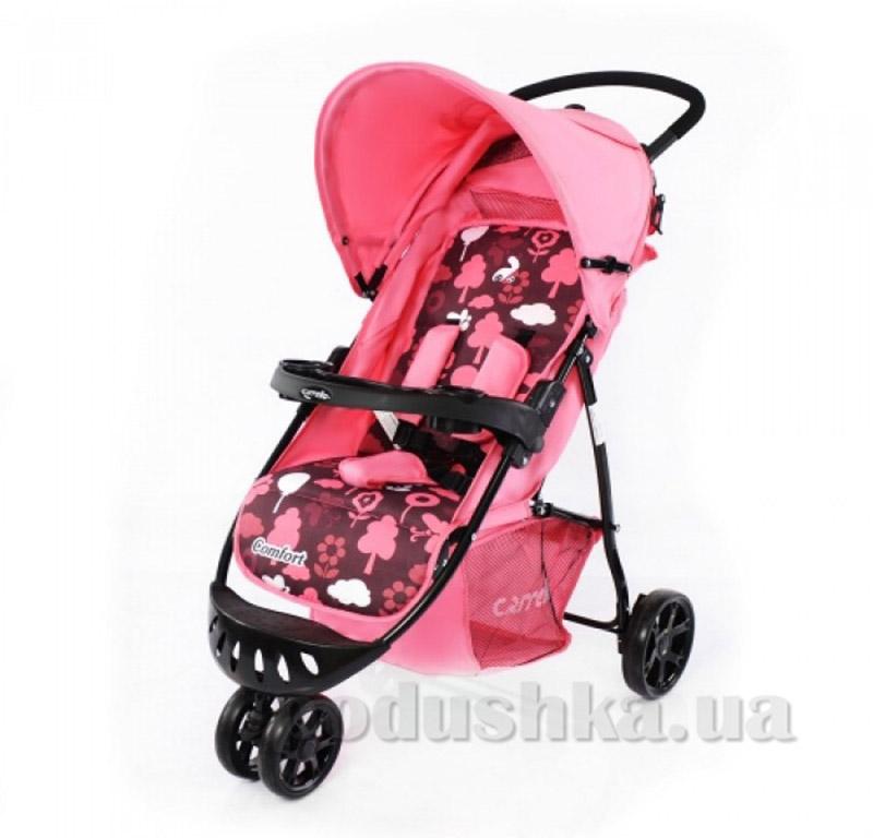 Прогулочная коляска Carrello Comfort CRL-1405 розовая
