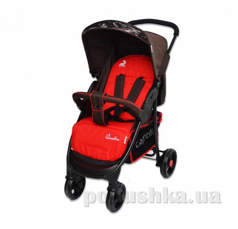 Прогулочная коляска Carrello Quattro CRL-8502 красная