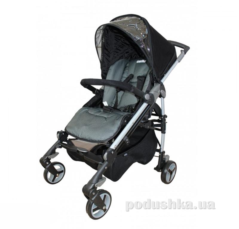 Прогулочная коляска для ребенка Babylux Carita black 208S-черная