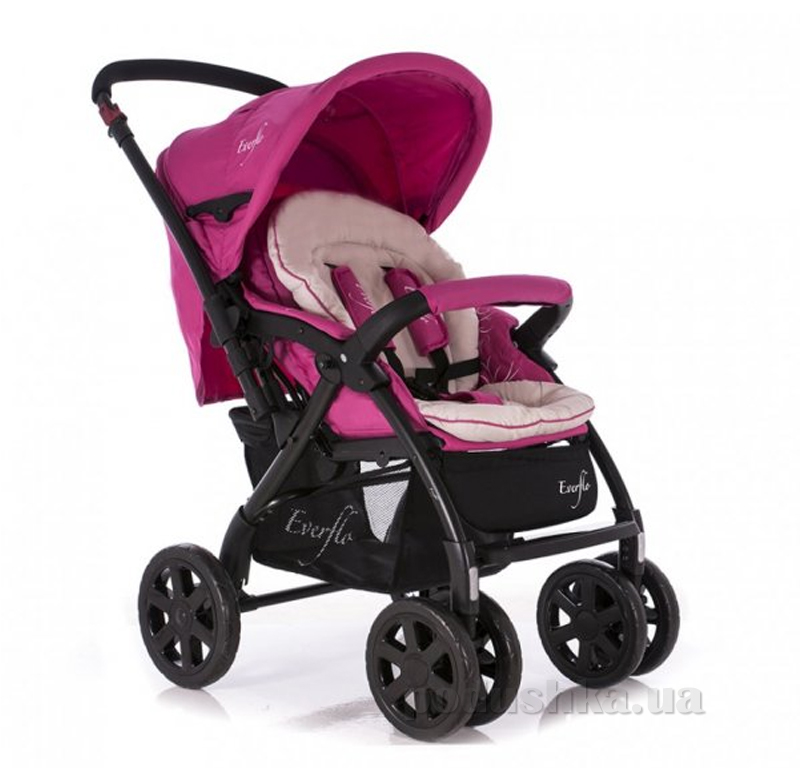 Прогулочная коляска Everflo E-337 ut-91755 Розовая