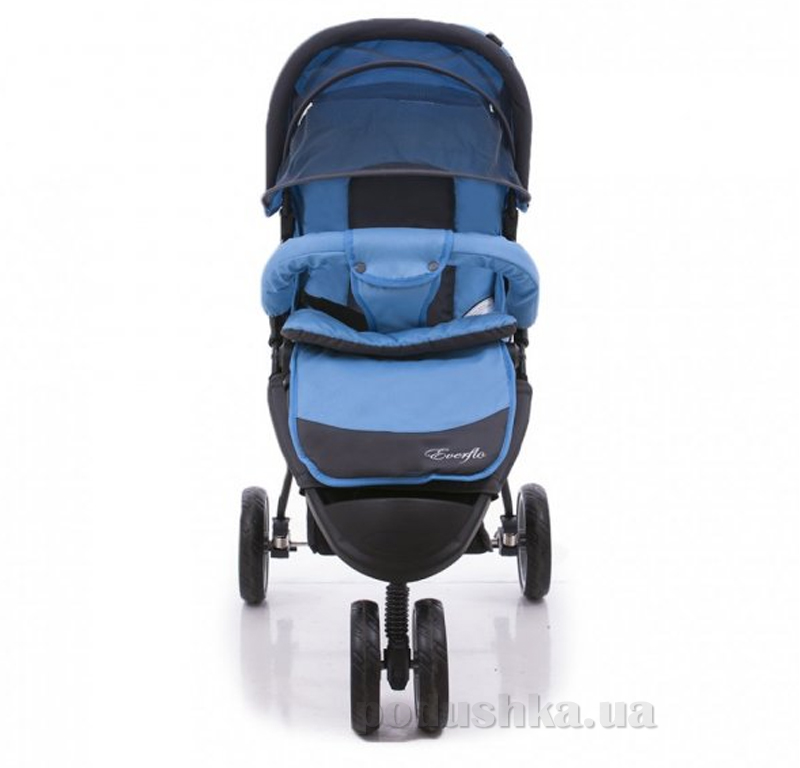 Прогулочная коляска Everflo SK-320 ut-68679 Синяя