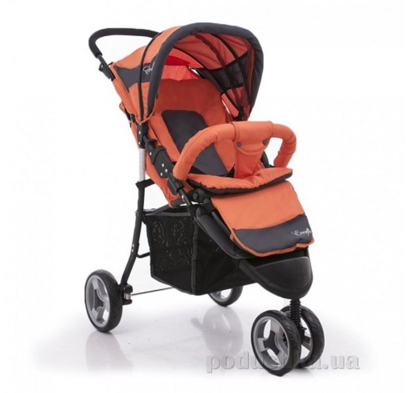 Прогулочная коляска Everflo SK-320 ut-68682 Оранжевая