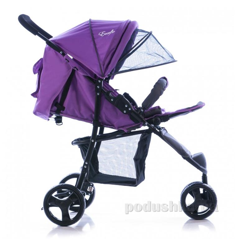 Прогулочная коляска Everflo SK-320 ut-68683 фиолетовая