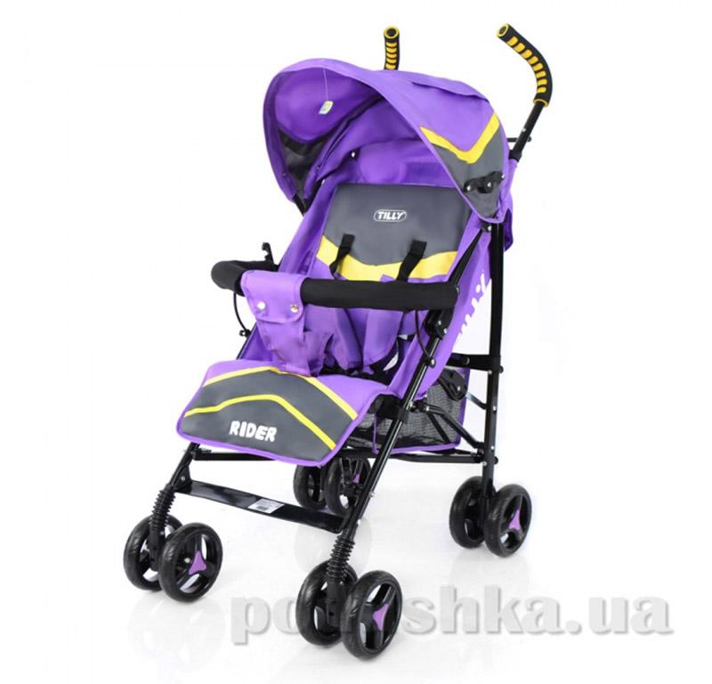 Прогулочная коляска-трость Rider BabyTilly SB 0002 фиолетовая