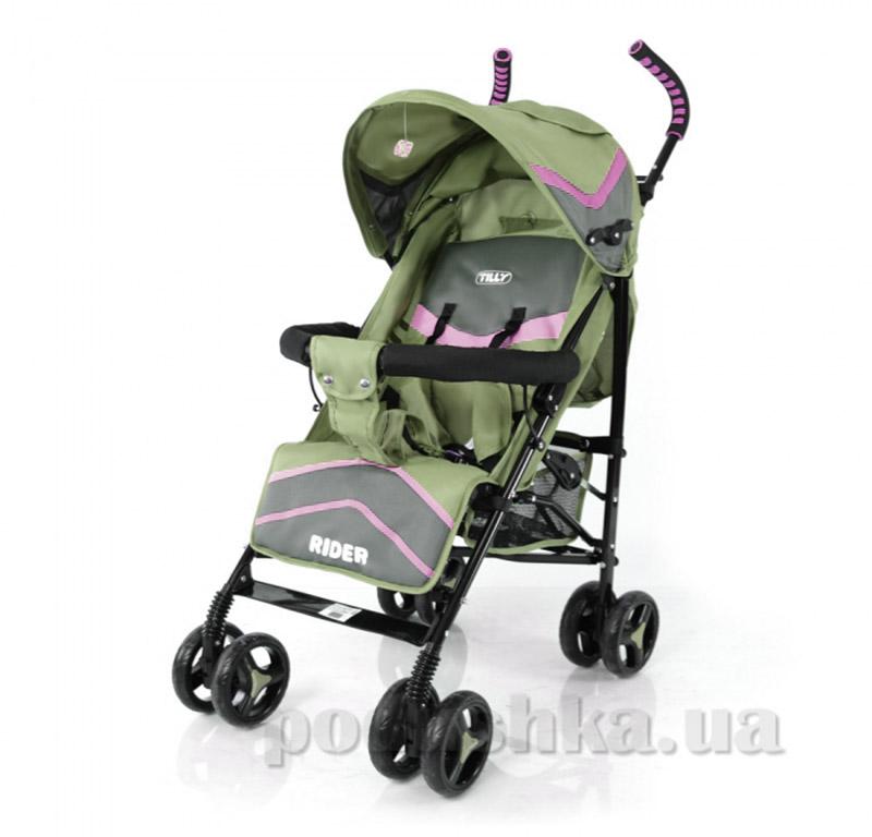 Прогулочная коляска-трость Rider BabyTilly SB 0002 хаки