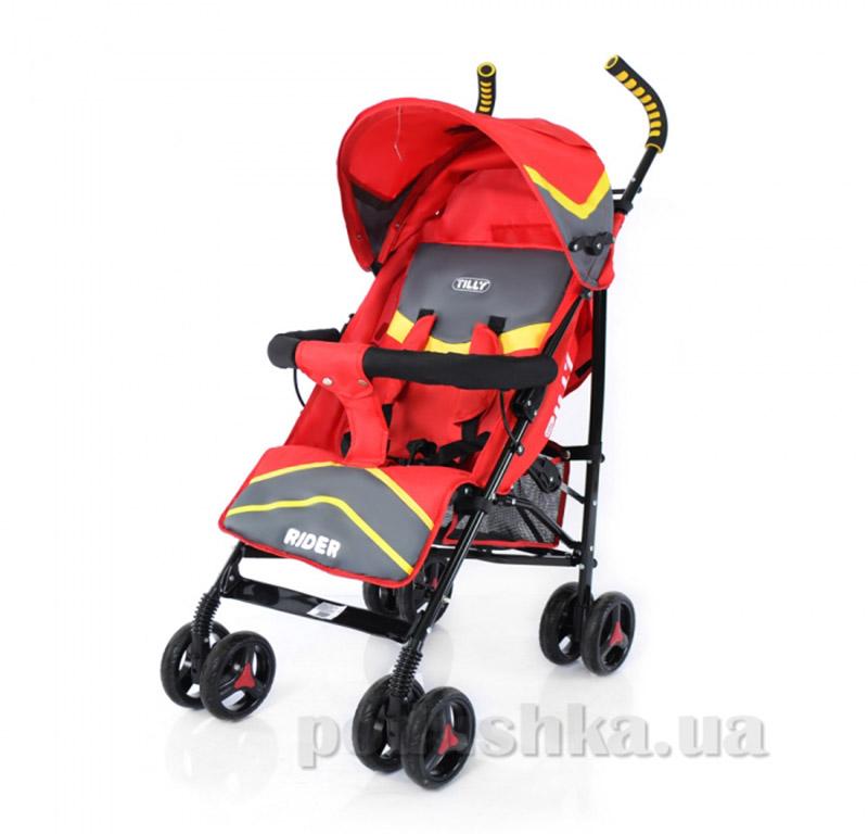 Прогулочная коляска-трость Rider BabyTilly SB 0002 красная