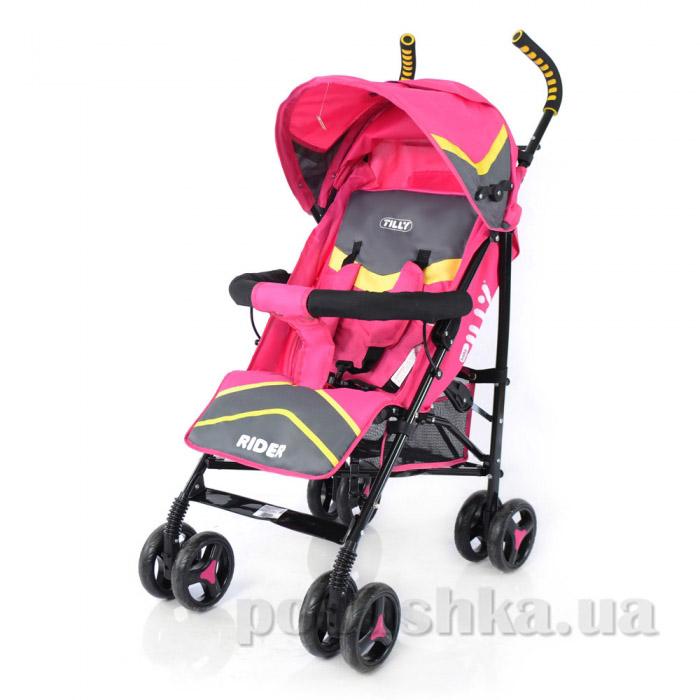 Прогулочная коляска-трость Rider BabyTilly SB 0002 розовая