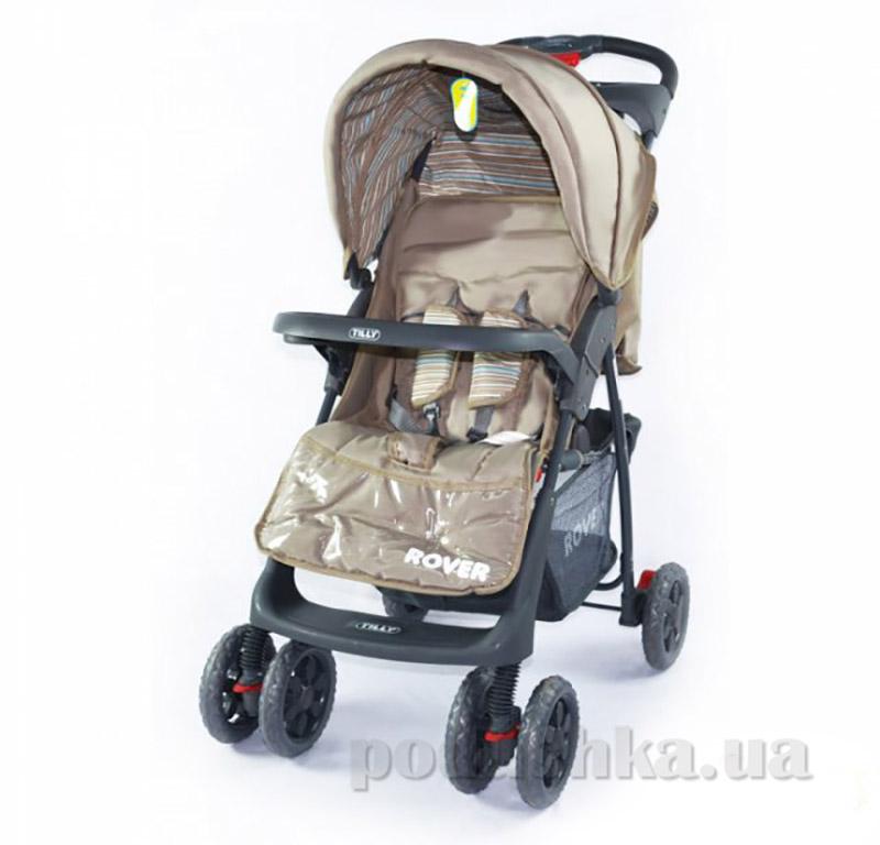 Прогулочная коляска-трость Rover BabyTilly BT-SB- 0006С коричневая