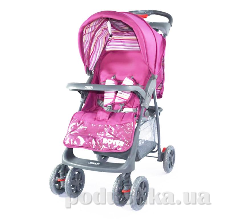 Прогулочная коляска-трость Rover BabyTilly BT-SB- 0006С розовая