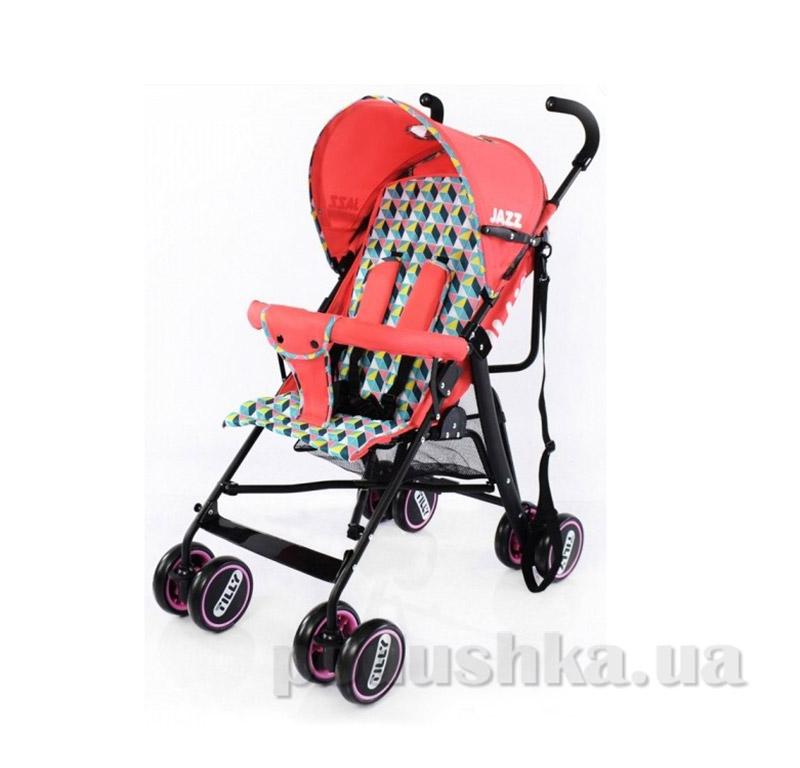 Прогулочная коляска-трость Rover BabyTilly BT-SB- 0008 Jazz красная