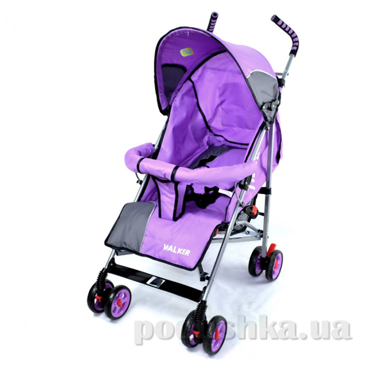 Прогулочная коляска-трость Walker BabyTilly SB 0001 фиолетовая