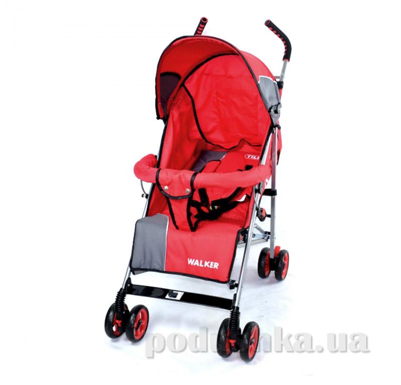 Прогулочная коляска-трость Walker BabyTilly SB 0001 красная