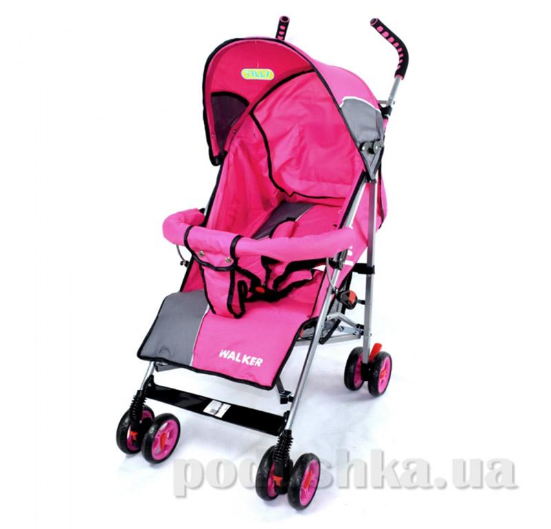 Прогулочная коляска-трость Walker BabyTilly SB 0001 розовая