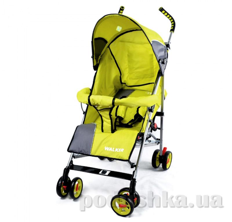 Прогулочная коляска-трость Walker BabyTilly SB 0001 желтая