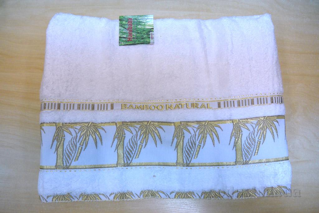 Простынь бамбуковая Hanibaba Naturale белая