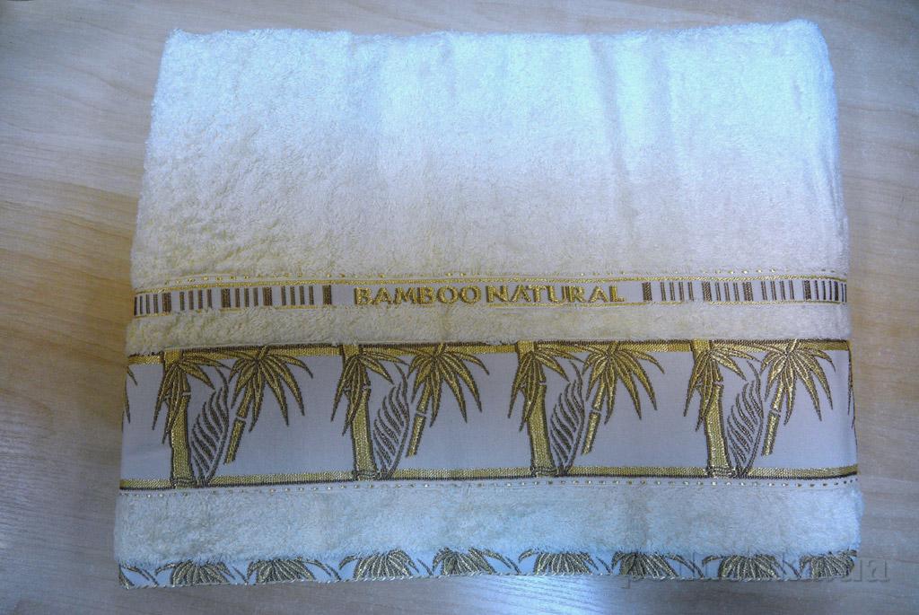 Простынь бамбуковая Hanibaba Naturale кремовая