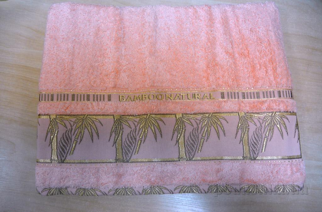 Простынь бамбуковая Hanibaba Naturale персик