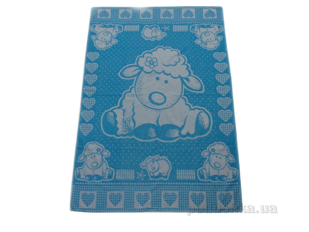 Простынь махровая детская Речицкий текстиль Овечка