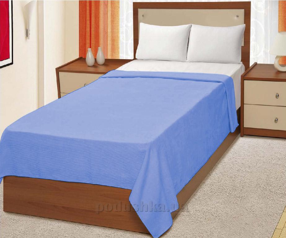 Простынь махровая Home Line Руя голубая
