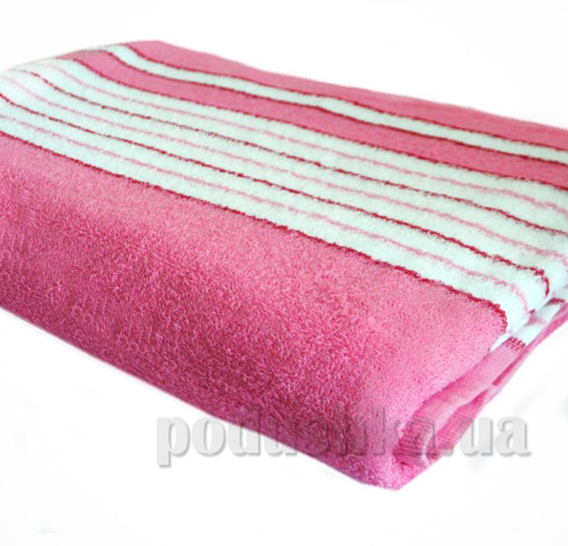 Простынь махровая SoundSleep ss00201 розовая