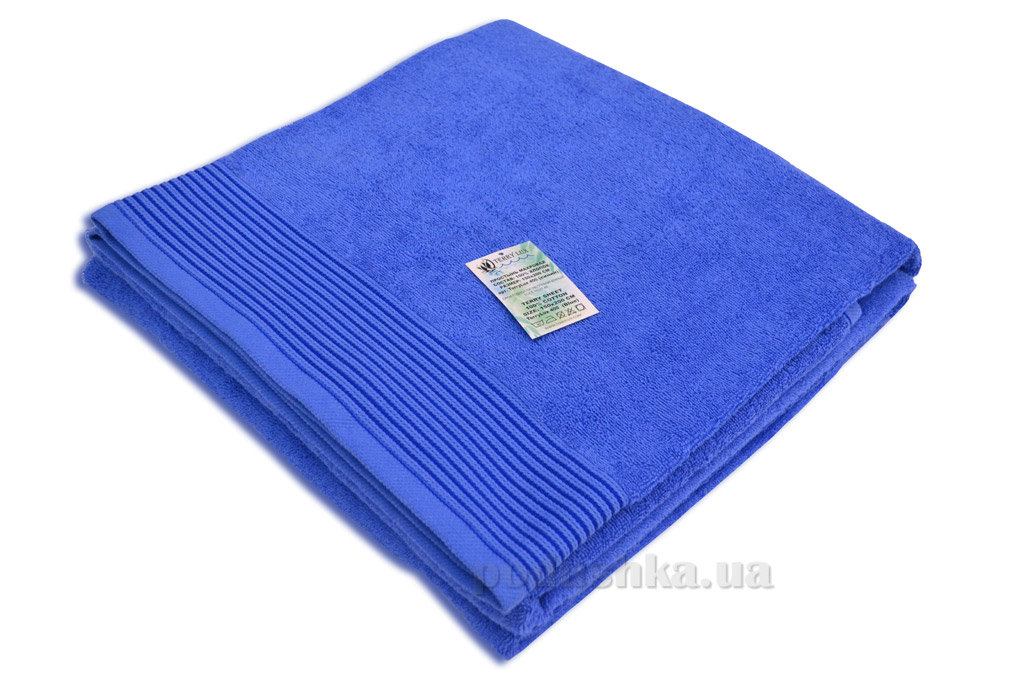 Простынь махровая Terry Lux TL-400 blue