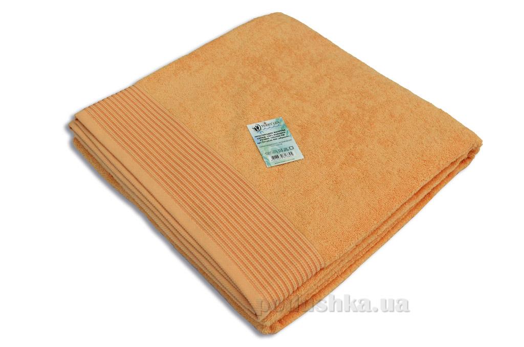 Простынь махровая Terry Lux TL-400 orange