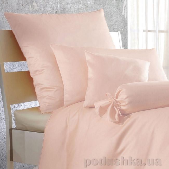 Простынь на резинке Lodex Rose светло-розовая