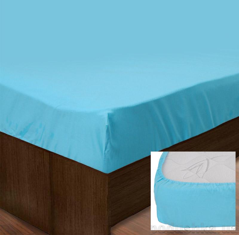 Простынь на резинке SoundSleep PR80R-Ran-134 Blue голубая