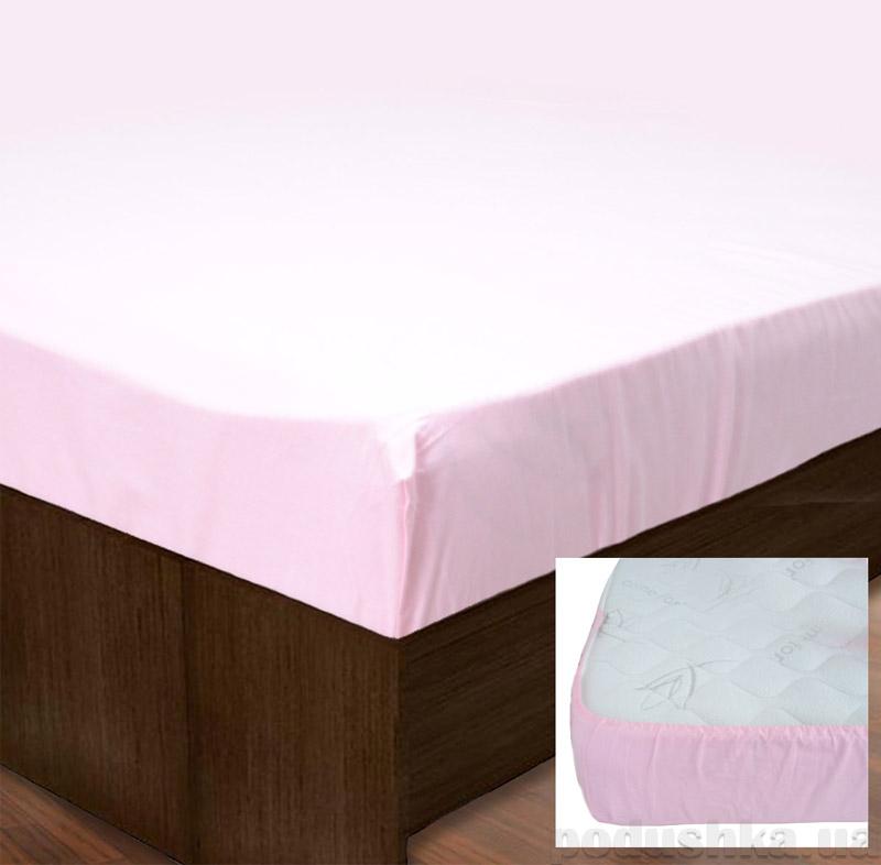 Простынь на резинке SoundSleep PR80R-Ran-149 Pink розовая