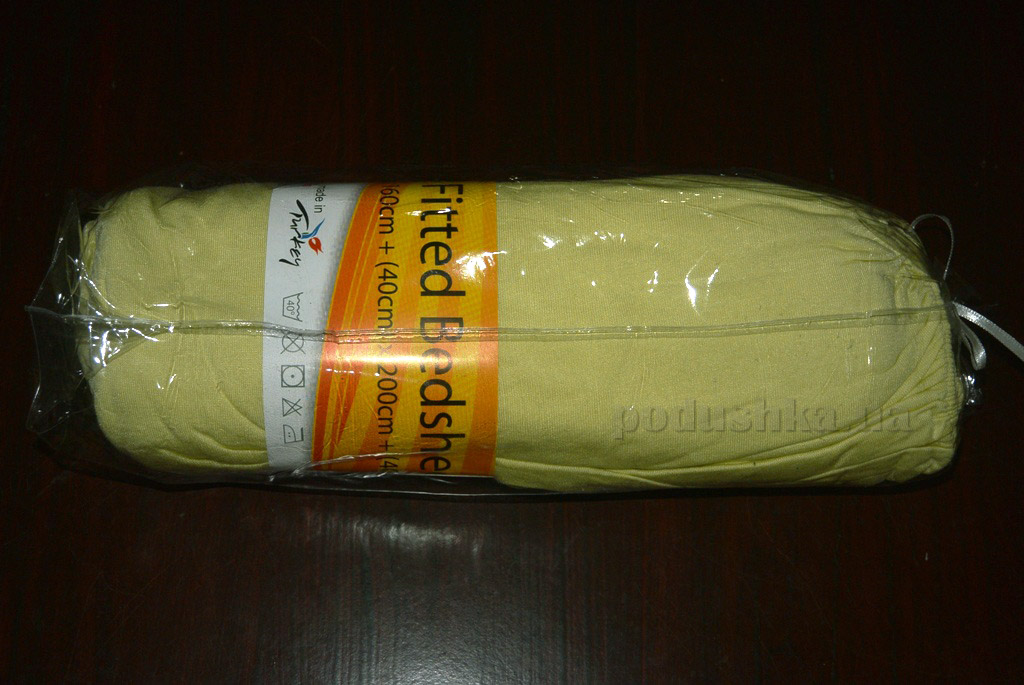 Простынь трикотажная на резинке Leydi 180х220 см