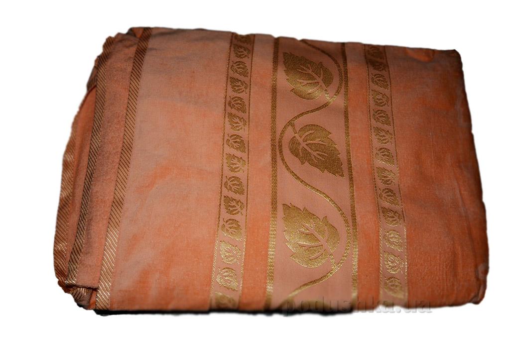Простынь велюровая Hanibaba Золотой Лист персик