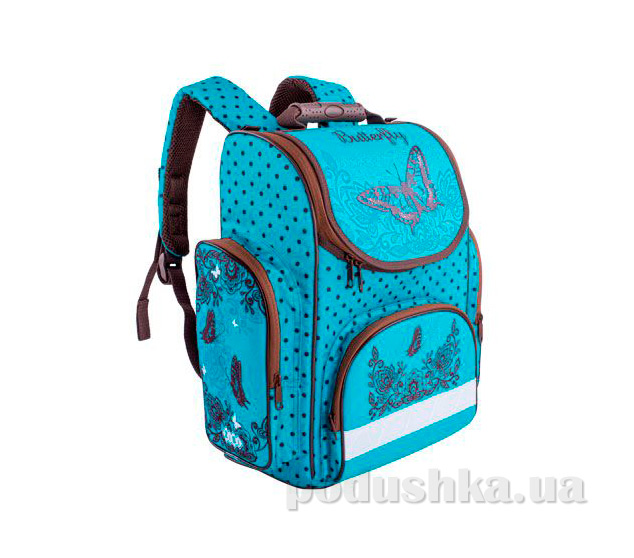 Ранец школьный каркасный ZiBi Top Zip Butterfly ZB14.0115BF
