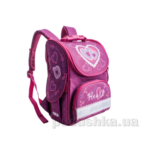 Ранец школьный каркасный ZiBi Top Zip Heart ZB14.0101HT