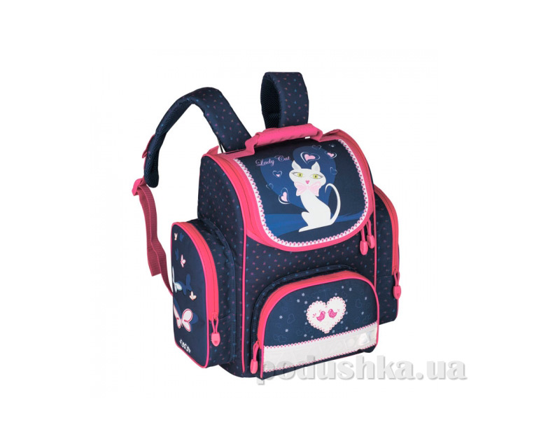 Ранец школьный ZiBi Lady Cat ZB13.0107LC с ортопедической спинкой