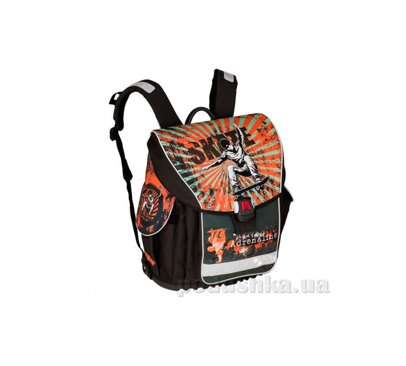 Рюкзак школьный каркасный ZiBi Backpack Goal ZB14.0004GL