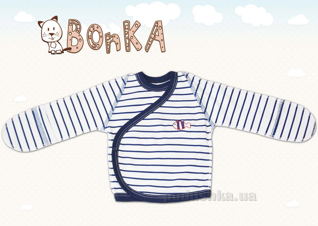 Распашонка Bonka РП-010-11 полоска