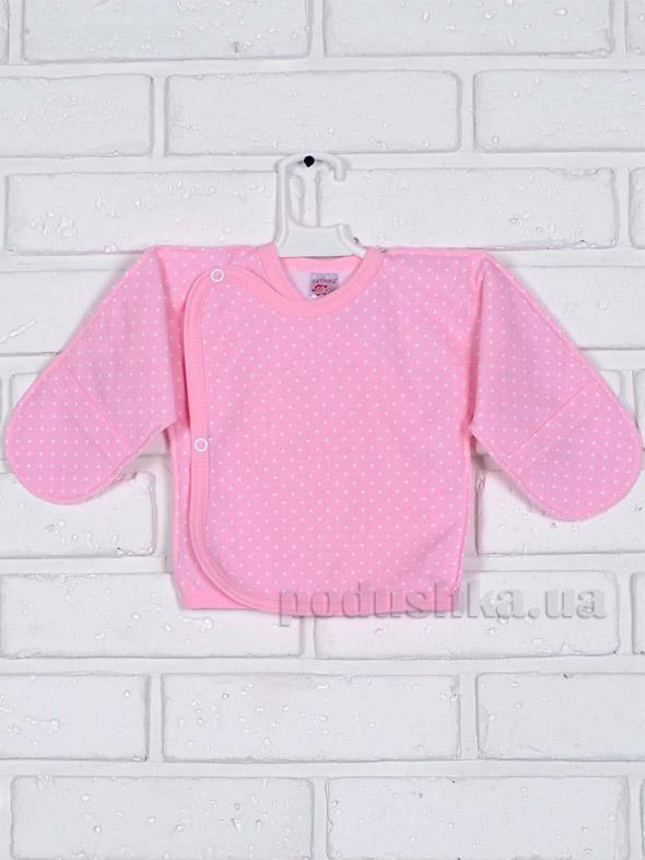 Распашонка для девочки Татошка 09253 розовая