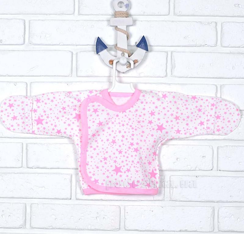Распашонка Леля Татошка 09653 Звездочки розовая