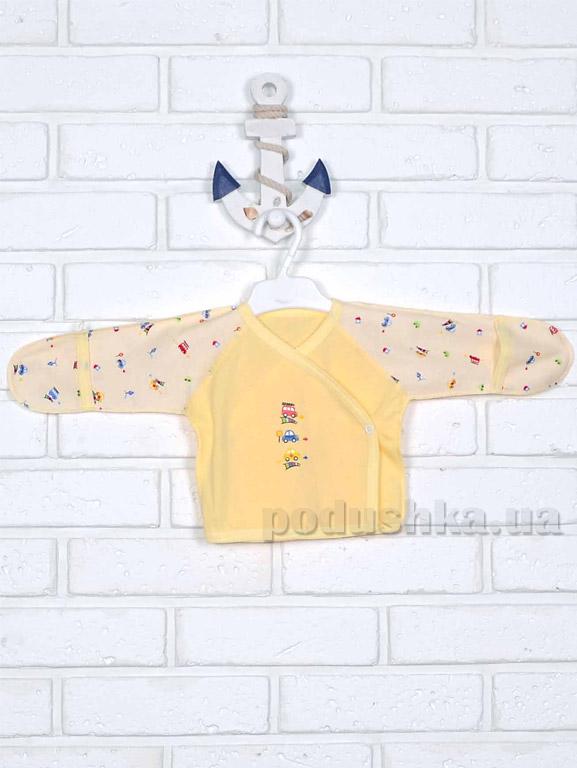 Распашонка Татошка 09153 желтая