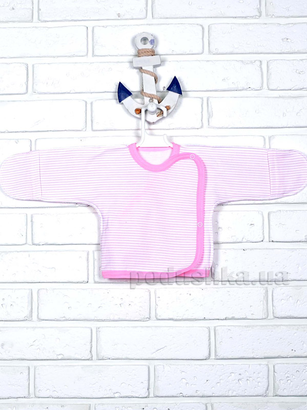 Распашонка Татошка 09253 в розовую полоску