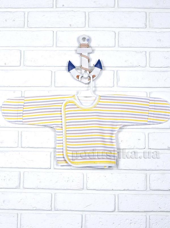 Распашонка Татошка 09253 в желтую полоску