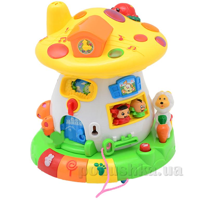 Развивающая игрушка Bambi Грибок-теремок 2208