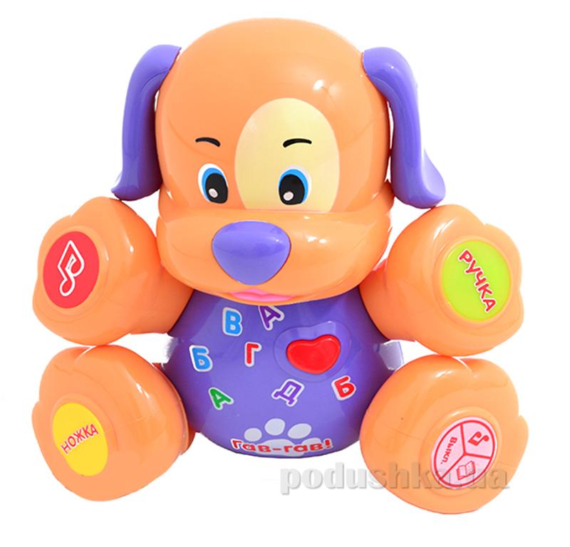 Развивающая игрушка Bambi Собака Фиолетовый 00641940-39-37