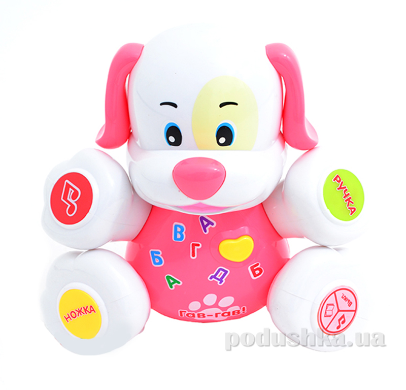 Развивающая игрушка Bambi Собака Розовый 00641940-39-37
