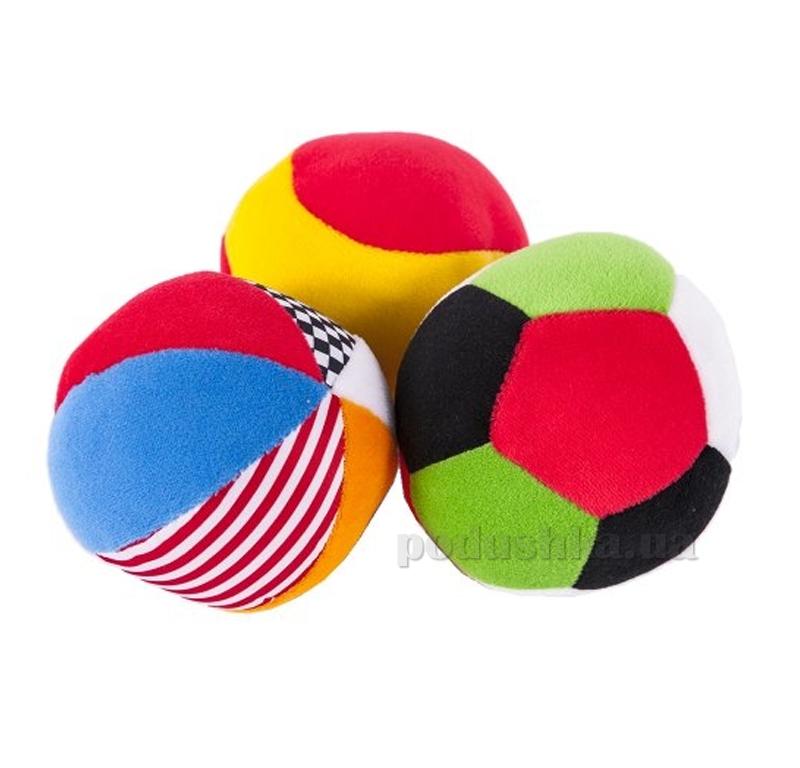 Развивающая игрушка Biba Toys Мягкие спортивные мячики 087BR
