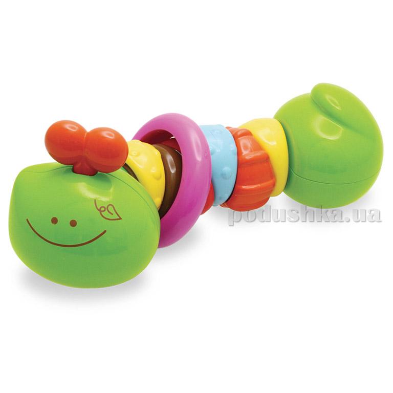 Развивающая игрушка Bkids Разноцветная гусеничка 04425