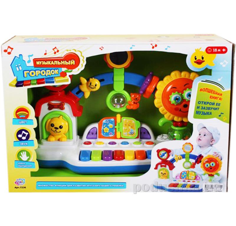 Развивающая игрушка Joy Toy Музыкальный городок 7236   Joy Toy