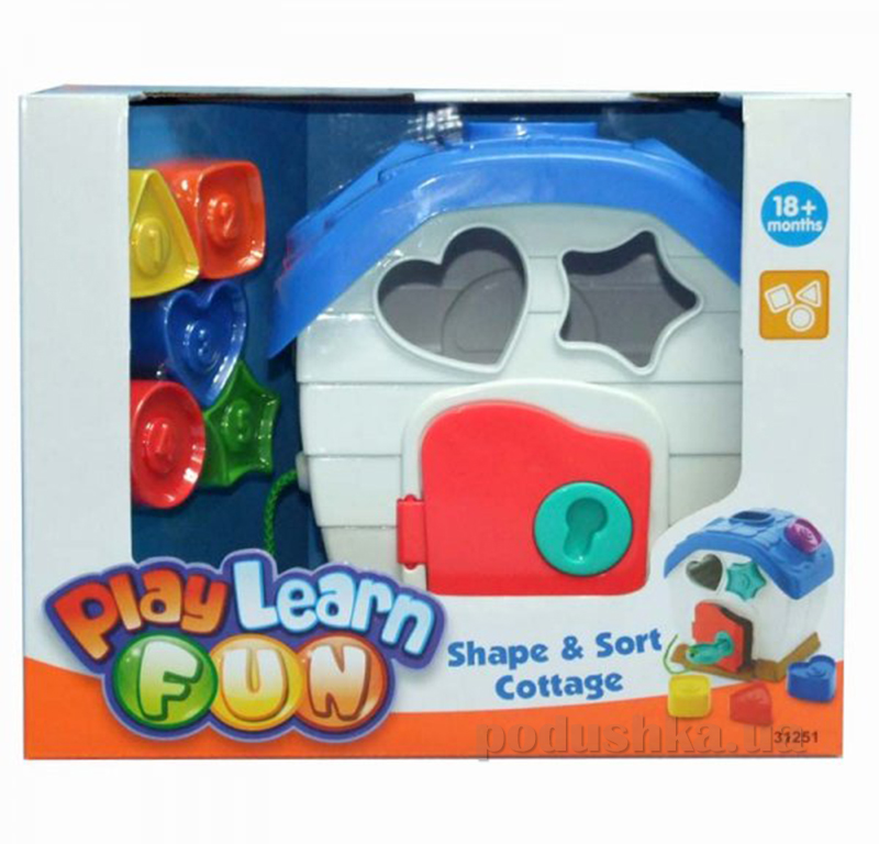 Развивающая игрушка Keenway Домик-сортер 31251