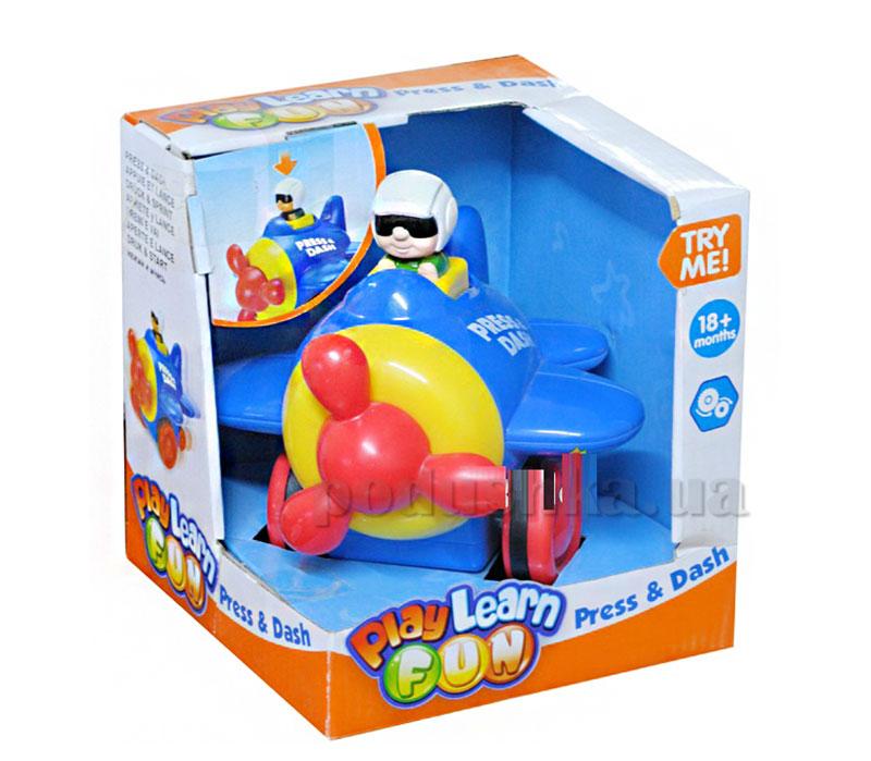 Развивающая игрушка Keenway Нажми и Догони Вертолет